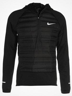 Nike Performance AEROLOFT  Löparjacka black/black/(metallic silver)
