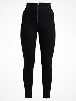 Topshop CORSET SIDE JAMIE Jeans Skinny Fit black