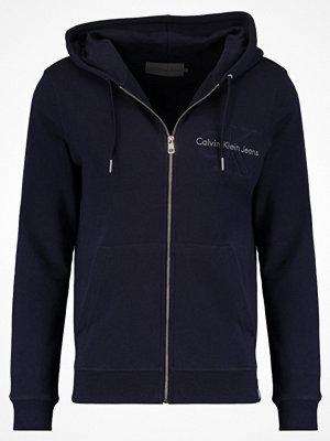 Calvin Klein Jeans HASTO ZIP SLIM FIT Luvtröja blue
