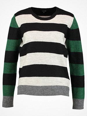 More & More Stickad tröja black