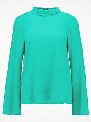 Topshop TIE BACK ROLL NECK Blus emerald