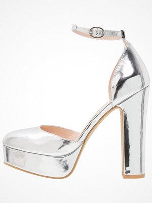 Even&Odd Klassiska pumps silver