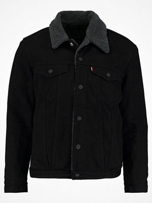 Jeansjackor - Levi's® TYPE SHERPA TRUCKER Jeansjacka black housemark