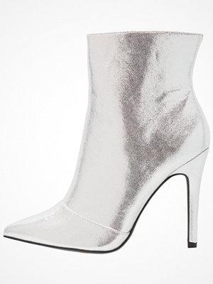 New Look Wide Fit WIDE FIT BLONDIE Klassiska stövletter silver