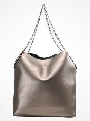 Dorothy Perkins omönstrad shopper Shoppingväska grey