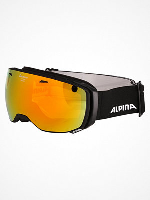 Alpina ESTETICA  Skidglasögon black matt