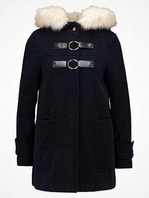 Topshop HOLLY SHORT COAT Kort kappa / rock navy