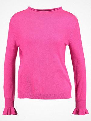 Jdy JDYPENNY FRILL CUFF  Stickad tröja fuchsia purple