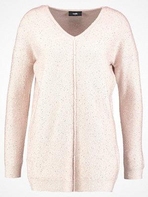 Wallis V NECK SEQUIN JUMPER Stickad tröja blush