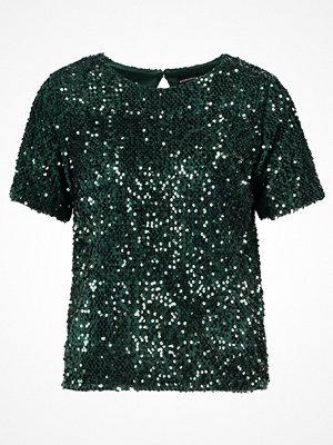 Dorothy Perkins SEQUIN Blus green