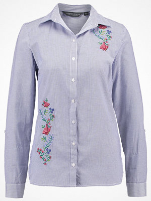 Dorothy Perkins Tall ROSE EMBROIDED CHAMBREY STRIPE Skjorta chambrey