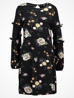 Dorothy Perkins FLORAL SWING DRESS Jerseyklänning black