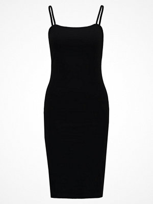 Topshop MIDI BODYCON Jerseyklänning black