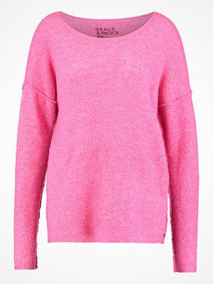 Grace UNI PEDRO Stickad tröja pink
