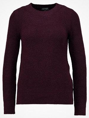 Topshop CREW Stickad tröja purple