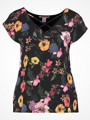 Anna Field FLOWER Blus pink/black/yellow