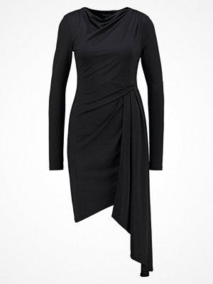 Topshop Jerseyklänning black
