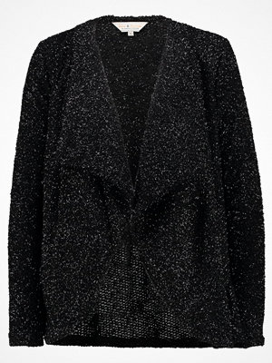 Dorothy Perkins SPARKLE WATERFALL CARDIGAN Kofta black