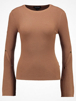 Miss Selfridge POPPER  Stickad tröja taupe/beige