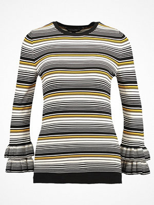 Dorothy Perkins YELLOW STRIPE JUMPER Stickad tröja yellow