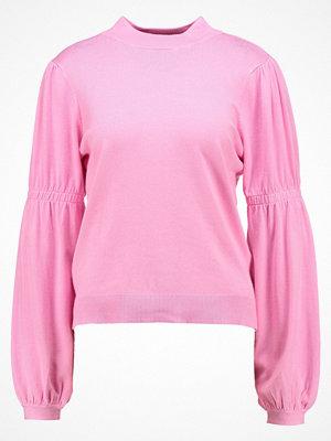 Only ONLGEORGIA BALLON Stickad tröja begonia pink