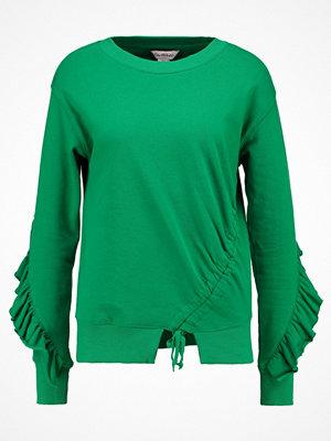 Miss Selfridge DRAWSTRING Stickad tröja dark green