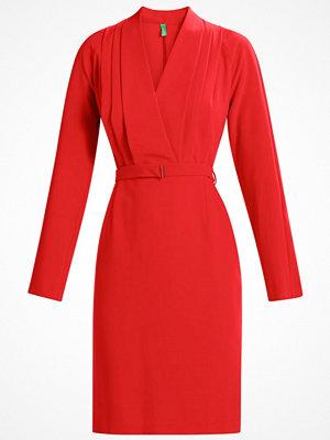 Benetton DRESS Fodralklänning red