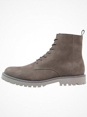 Boots & kängor - Zign Snörstövletter grey