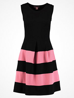 Anna Field Jerseyklänning black/ rose