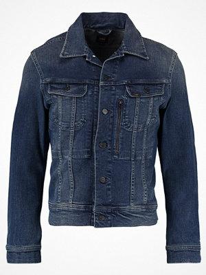 Jeansjackor - Lee ZIPPED RIDER Jeansjacka strummer patch