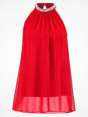 Wallis HIGH NECK Blus red