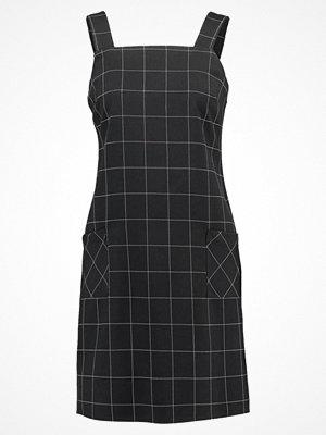 Dorothy Perkins CHECKED PINAFORE DRESS Sommarklänning black