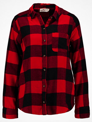 Hollister Co. PLAID UPDATE  Skjorta dark red