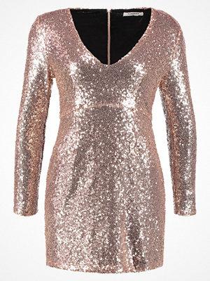 Glamorous Cocktailklänning gold