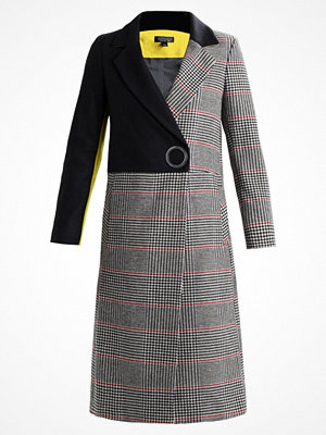 Topshop COLOUR BLOCK COAT Kappa / rock multi