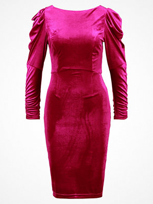 Dorothy Perkins ROUCHED SLEEVE BODYCON Fodralklänning pink