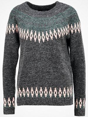 Vero Moda VMFEVER COPENHAGEN Stickad tröja dark grey melange