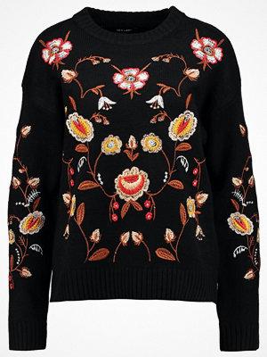 New Look ALL OVER JUMPER Stickad tröja black pattern