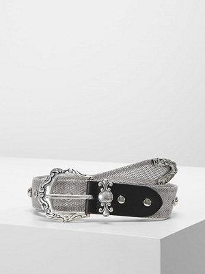 Bälten & skärp - Topshop FULL MESH WESTERN   Skärp silvercoloured
