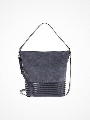 Tamaris grå shopper CARLA HOBO BAG Shoppingväska blue