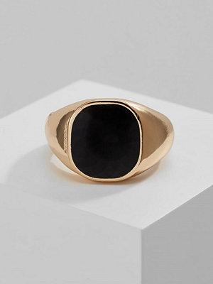 ERASE SIGNET RING Ringar goldcoloured