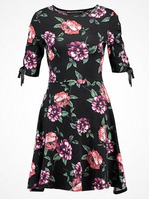 Dorothy Perkins EYELET TRIM DRESS Jerseyklänning black