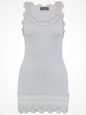 Rosemunde BENITA Linne light grey melange