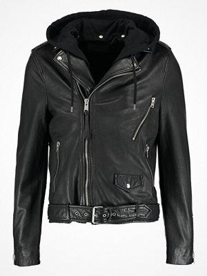 Skinnjackor - AllSaints STENS BIKER Skinnjacka black