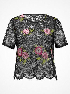 New Look FLORAL Tshirt med tryck black