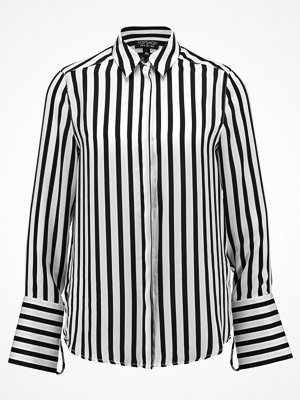 Topshop STRIPE SHIRT Skjorta black