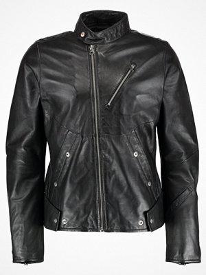 Skinnjackor - G-Star GStar EMPRAL DC LEATHER BIKER JKT Skinnjacka black