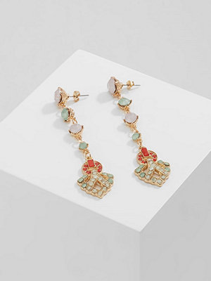 Vero Moda örhängen VMSEFIRA LONG EARRINGS Örhänge rose cloud