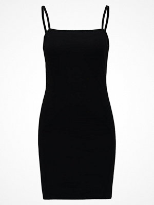 Topshop MINI BODYCON Jerseyklänning black
