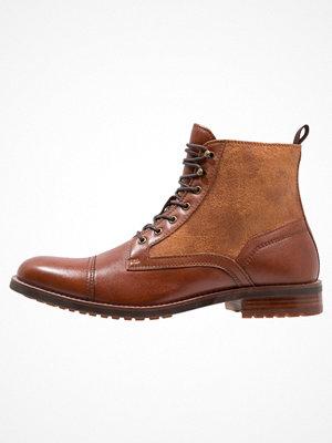 Boots & kängor - Aldo PIEDE Snörstövletter cognac